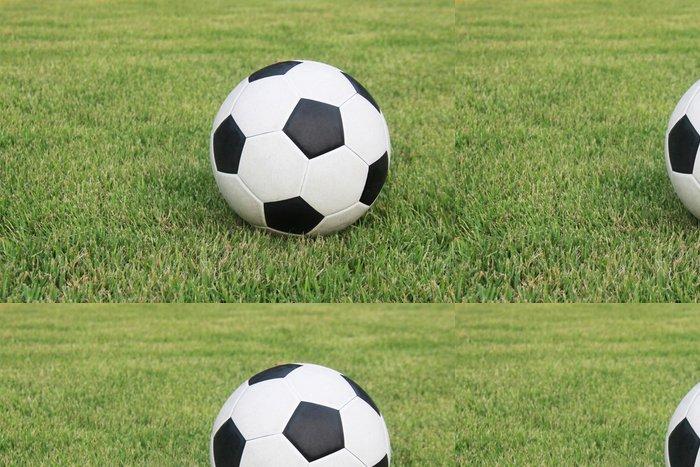 Vinylová Tapeta Fotbal na poli - Sportovní potřeby