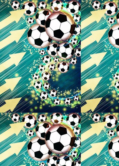 Tapeta Pixerstick Fotbal nebo fotbal pozadí -