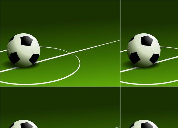 Tapeta Pixerstick Fotbal pozadí -