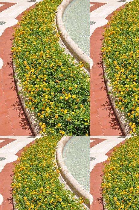 Tapeta Pixerstick Fowers v lázeňském městečku Montecatini Terme Itálie - Květiny