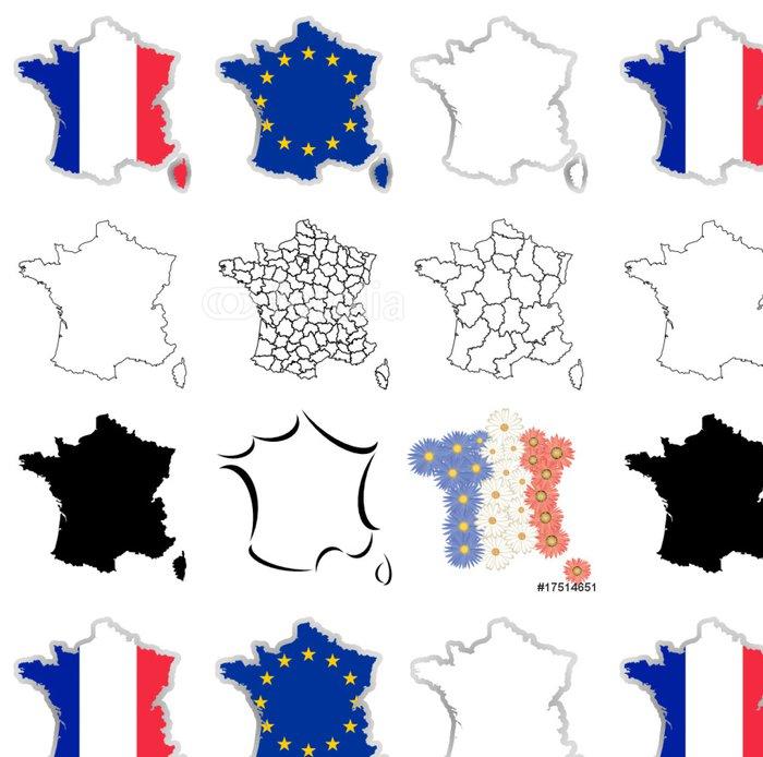 Tapeta Pixerstick France - Evropská města
