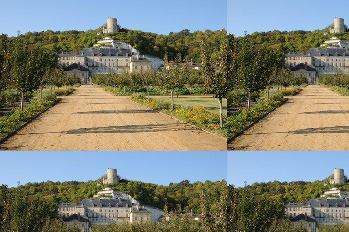 Vinylová Tapeta Francie, château de La Roche Guyon - Prázdniny