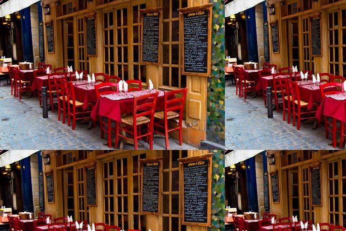 Tapeta Pixerstick Francouzská restaurace - Evropská města