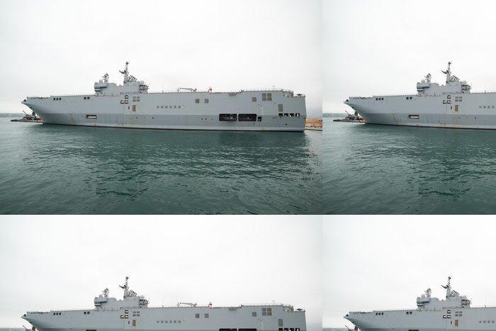 Tapeta Pixerstick Francouzské námořnictvo Mistral třída nosič vrtulník - Násilí a zločin