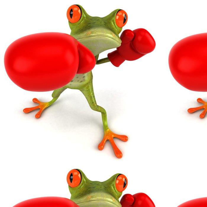 Tapeta Pixerstick Frog Boxing - Značky a symboly