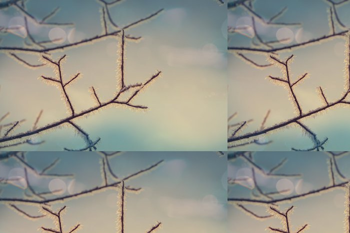 Tapeta Pixerstick Frozen strom - Krajiny