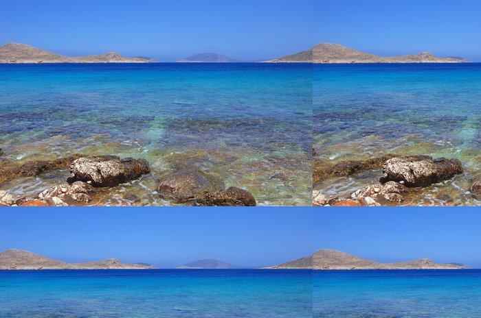 Tapeta Pixerstick Ftenagia Beach, Halki Island, Řecko - Evropa