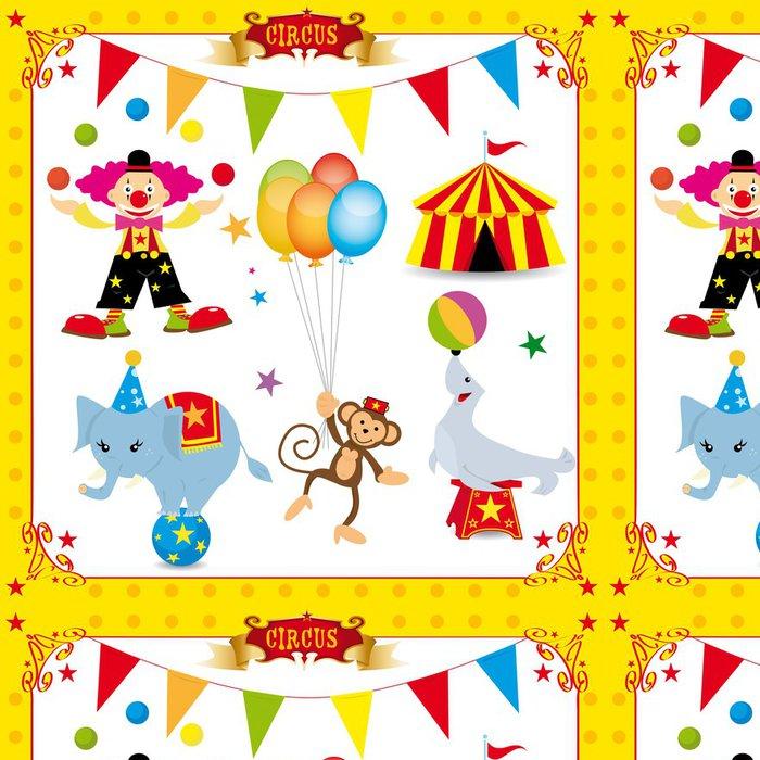 Tapeta Pixerstick Fun cirkusu sada - Zábava