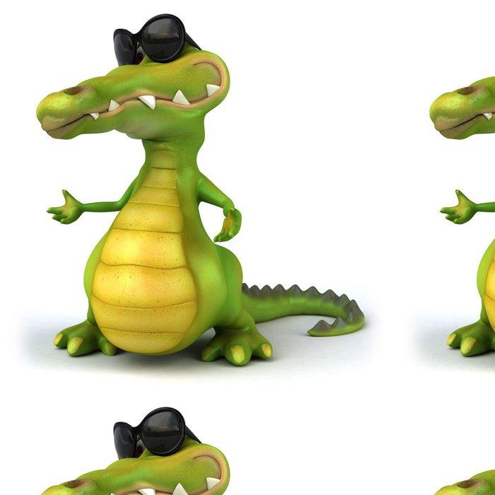 Tapeta Pixerstick Fun krokodýl - Značky a symboly