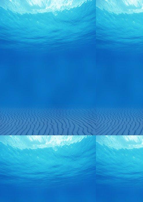 Tapeta Pixerstick Fundo dělat oceano - Podvodní svět