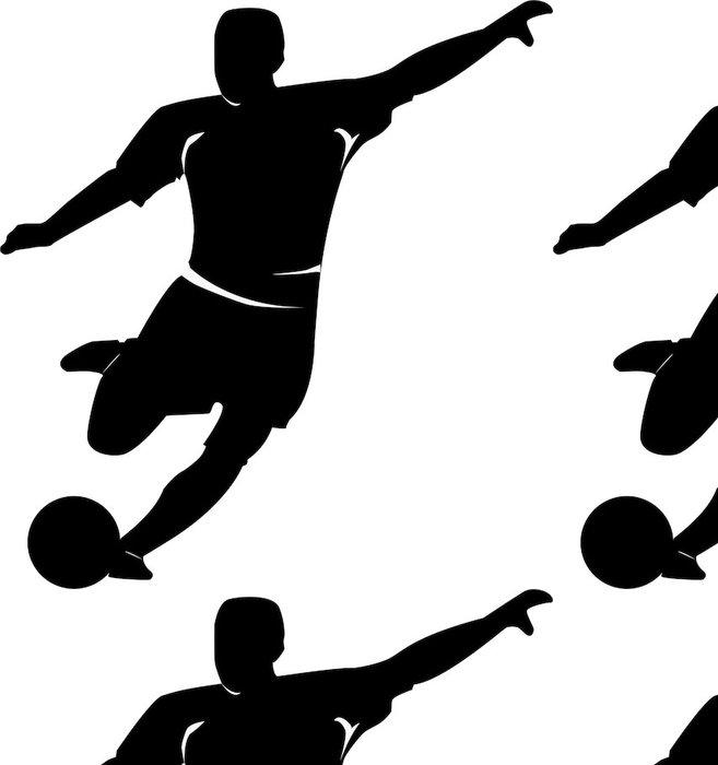 Tapeta Pixerstick Fussballer | Socer hráč - Týmové sporty