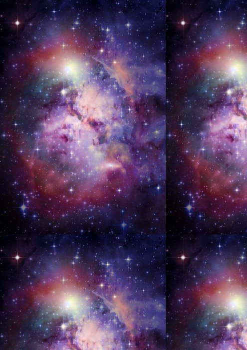 Tapeta Pixerstick Galaxie ve volném prostoru - Témata