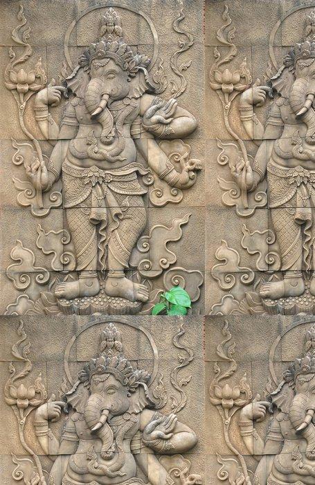 Tapeta Pixerstick Ganesha socha - Památky