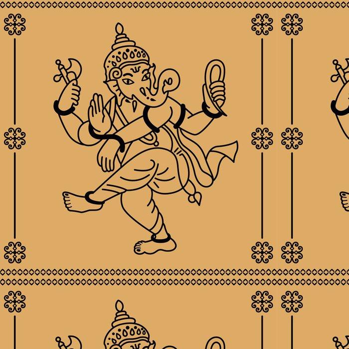 Tapeta Pixerstick Ganesha - Asie
