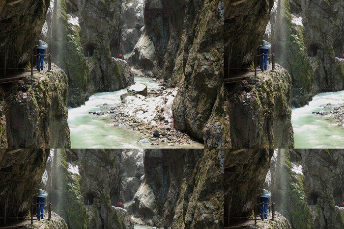 Tapeta Pixerstick Garmisch Partenkirchen - Partnachklamm - Příroda a divočina