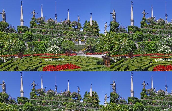 Tapeta Pixerstick Gärten der Borromäischen Inseln im Lago Maggiore - Prázdniny
