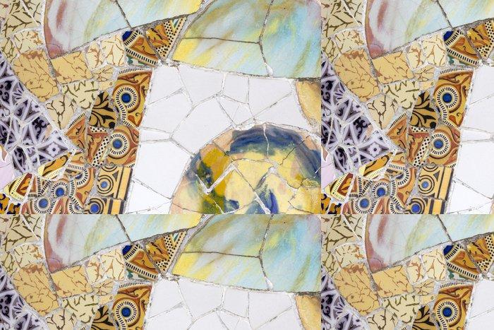 Tapeta Pixerstick Gaudího dekorativní - Evropská města