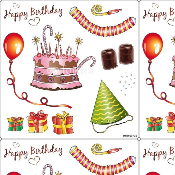 Tapeta Pixerstick Geburtstag, narozeniny, Feier, Fest, Geburtstagsfeier, Party - Slavnosti