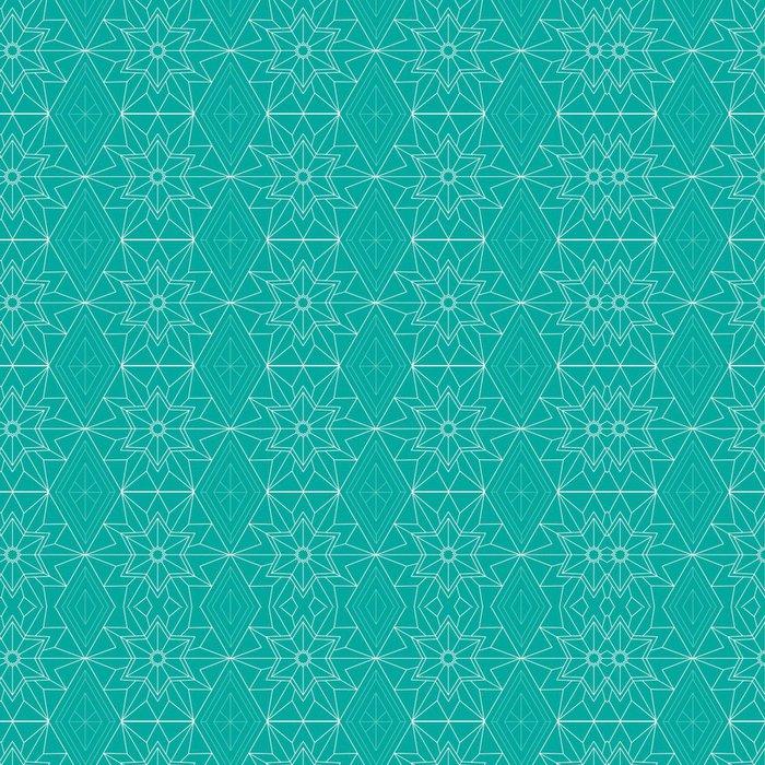 Tapeta Pixerstick Geometrická hvězda vzor pozadí - Témata