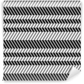 Tapeta Pixerstick Geometrické bezešvé byt vzor, 3D iluze.