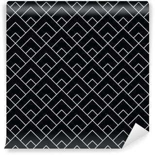 Vinylová Tapeta Geometrické diamantové dlaždice minimální grafický vektorový vzor
