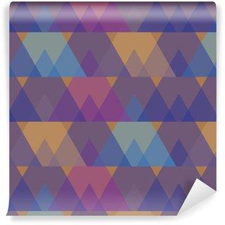 Vinylová Tapeta Geometrické lineární trojúhelníky vzor.