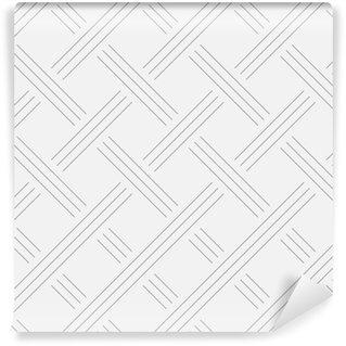 Tapeta Pixerstick Geometrické pozadí, čtverce. Konstrukce šňůr. Bezešvé vzor. Vektorové ilustrace EPS 10