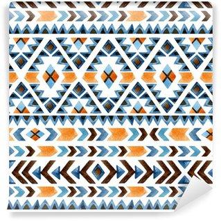 Vinylová Tapeta Geometrický etnické bezešvé vzor
