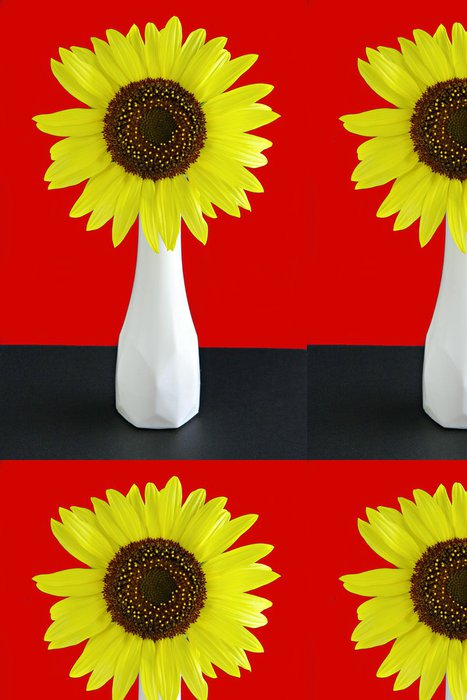 Tapeta Pixerstick Giant slunečnice - Květiny