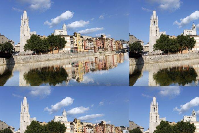 Tapeta Pixerstick Girona - Evropa