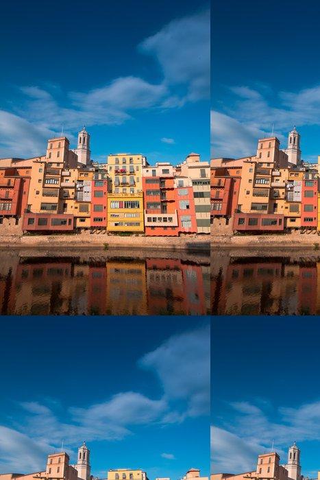 Tapeta Pixerstick Girona - Město