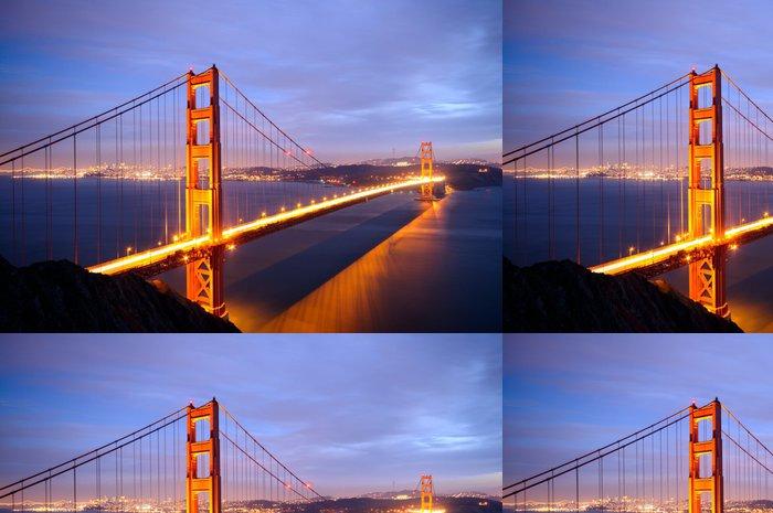 Tapeta Pixerstick Golden Gate Bridge z baterie Spencer pohledu - Americká města