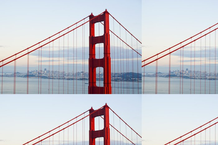 Tapeta Pixerstick Golden gate bridge - Americká města