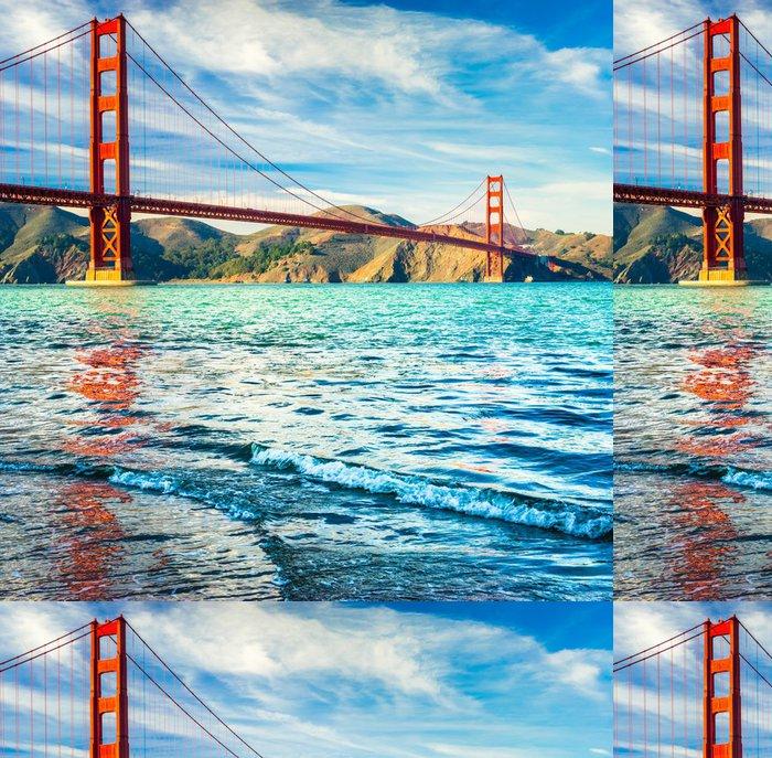 Tapeta Pixerstick Golden Gate, San Francisco, Kalifornie, USA. - Severní Amerika