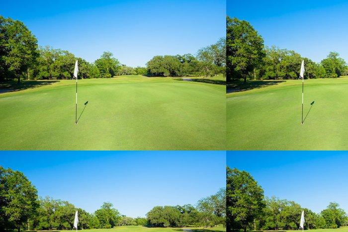 Tapeta Pixerstick Golfing - Individuální sporty