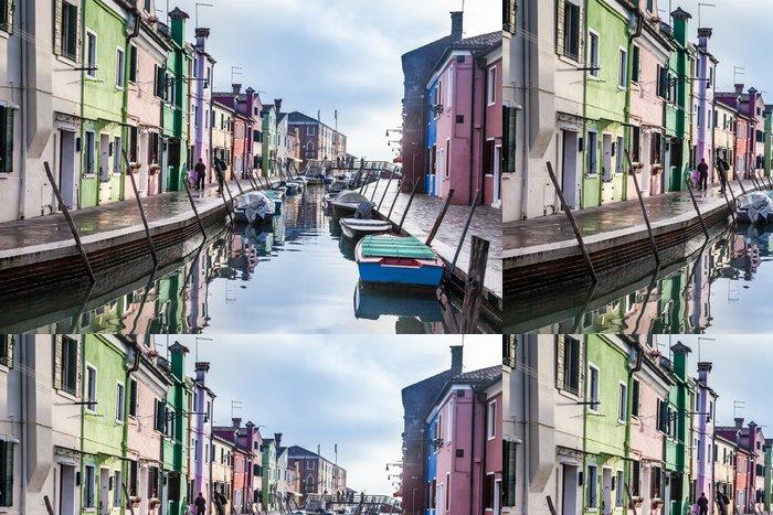 Vinylová Tapeta Gondoly Benátky Itálie Evropa - Lodě