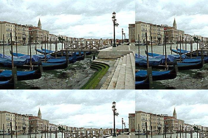 Tapeta Pixerstick Gondoly v Benátkách - Prázdniny