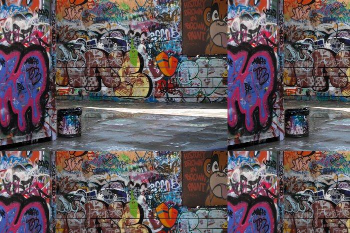 Tapeta Pixerstick Graffiti Alley - Umění a tvorba
