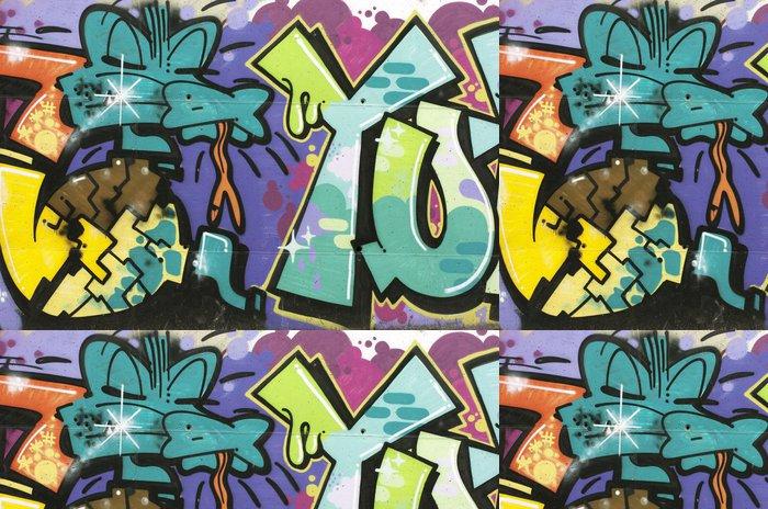 Tapeta Pixerstick Graffiti Cocodrilo - Témata