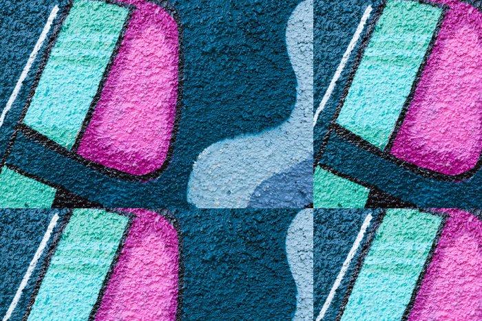 Tapeta Pixerstick Graffiti detailní - Značky a symboly