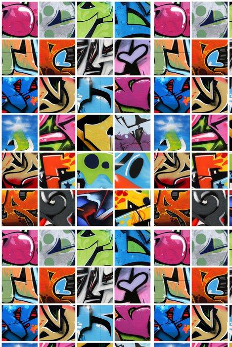 Tapeta Pixerstick Graffiti - Umění a tvorba