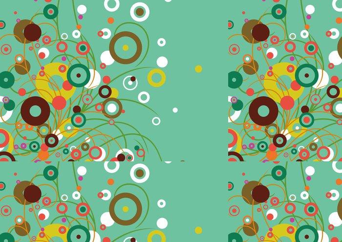 Tapeta Pixerstick Grafický vzor - Rostliny