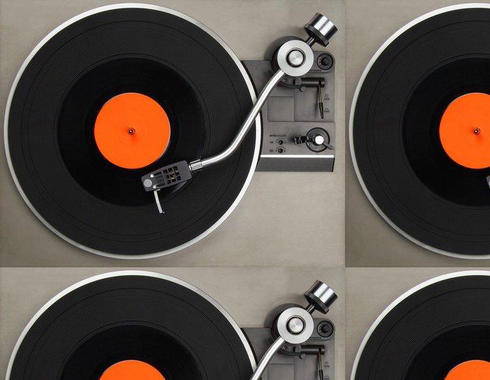 Tapeta Pixerstick Gramofon s vinylové desky - Styly