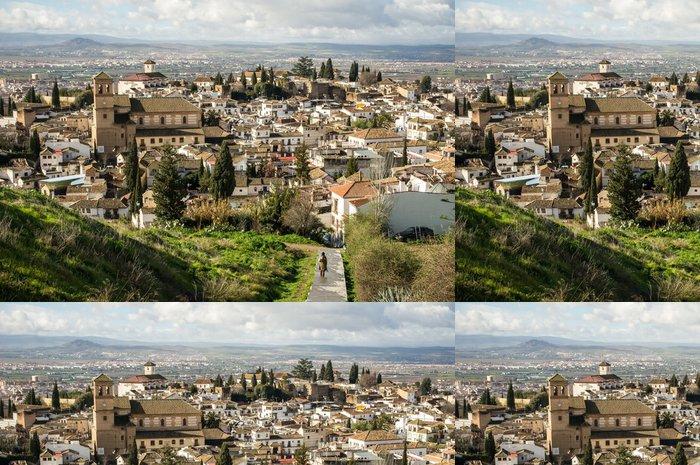 Tapeta Pixerstick Granada - Evropa