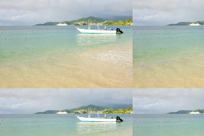 Vinylová Tapeta Grand Anse Bay, Grenada - Amerika