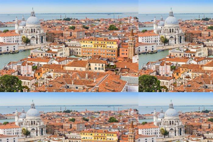Vinylová Tapeta Grand Canal a Bazilika slunečného dne, Benátky - Prázdniny