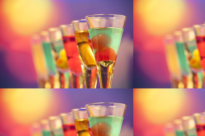 Tapeta Pixerstick Grappe - Alkohol