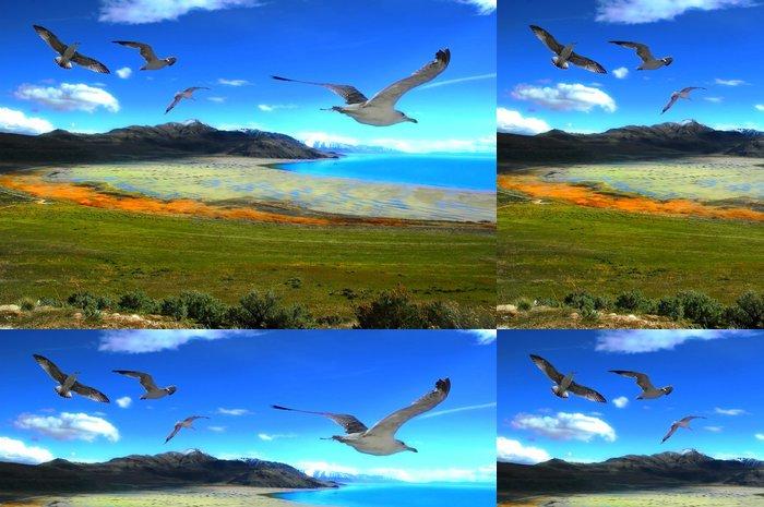 Tapeta Pixerstick Great Salt Lake v Utahu - Outdoorové sporty