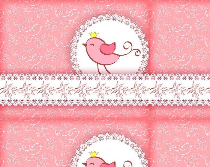 Tapeta Pixerstick Greeting card - Pozadí