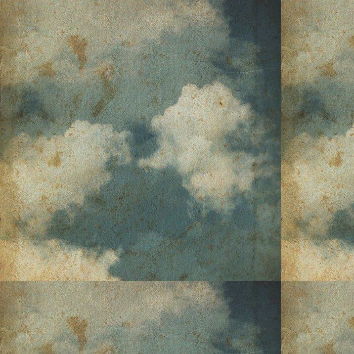 Tapeta Pixerstick Grunge oblačnosti pozadí, vinobraní papír textury - iStaging